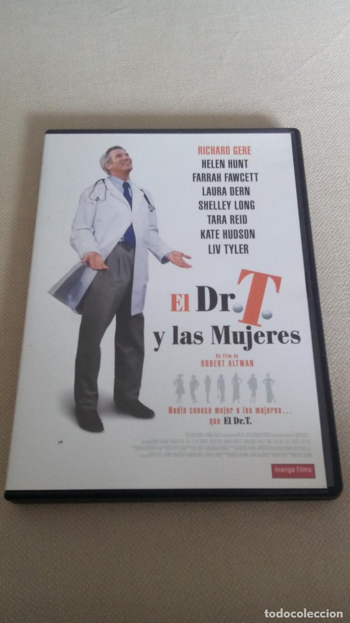 EL DR. T Y LAS MUJERES, DE ROBERT ALTMAN, CON RICHARD GERE, HELEN HUNT, FARRAH FAWCETT, LAURA DERN (Cine - Películas - DVD)