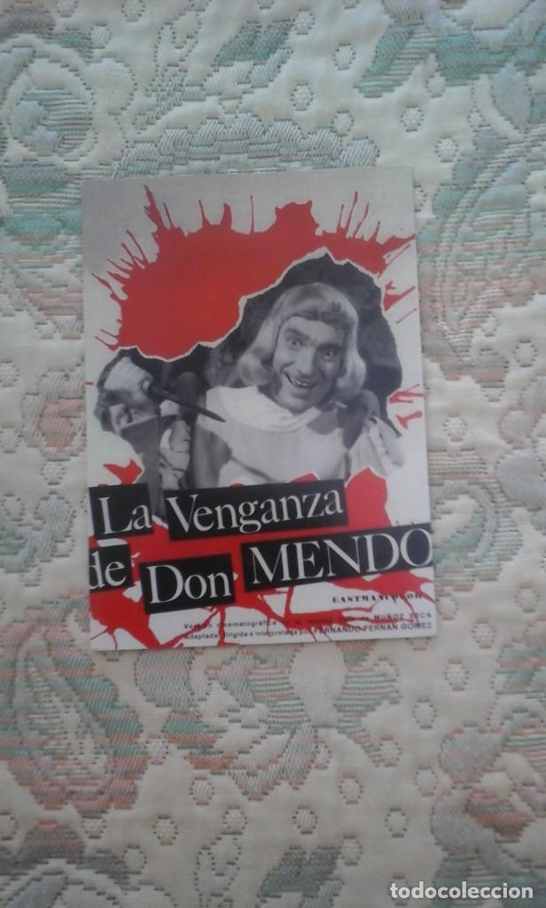 DVD LA VENGANZA DE DON MENDO, DE FERNANDO FERNAN GOMEZ (COMEDIA HILARANTE) (Cine - Películas - DVD)