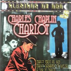 Cine: DVD CHARLES CHAPLIN CHARLOT . Lote 91728400