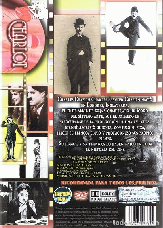 Cine: DVD CHARLES CHAPLIN CHARLOT - Foto 2 - 91728400