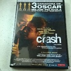 Cine: CRASH-PAUL HAGGIS-DVD-SANDRA BULLOCK-DON CHEADLE-MATT DILLON-N. Lote 91806255