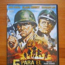 Cine: DVD 5 PARA EL INFIERNO - FRANK KRAMER - KLAUS KINSKY (D5). Lote 91808225
