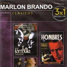 Cine: DVD CICLO MARLON BRANDO LA FÓRMULA (PRECINTADO). Lote 91815440