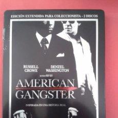 Cine: AMERICAN GANSTER (EDICION METALICA). Lote 149453201