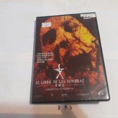 Cine: EL LIBRO DE LAS SOMBRAS 2 DVD . Lote 91873222