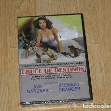 Cine: CRUCE DE DESTINOS DVD AVA GARDNER STEWART GRANGER NUEVA PRECINTADA. Lote 154532918