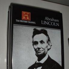 Cine: DVD BIOGRAFIA CANAL DE HISTORIA ABRAHAM LINCOLN. Lote 92000370