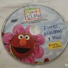 Cine: 34-DVD BARRIO SESAMO, EL MUNDO DE ELMO, SIN CAJA. Lote 92010225