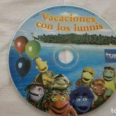 Cine: 29-DVD VACACIONES CON LOS LUNNIS, SIN CAJA. Lote 92011240