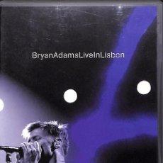 Cine: DVD BRYAN ADAMS LIVE IN LISBON. Lote 92047340