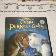 Cine: 23-DVD COMO PERROS Y GATOS. Lote 92227395