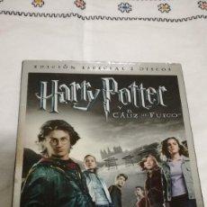 Cine: 19-DVD HARRY POTTER Y EL CALIZ DE FUEGO, EDICION ESPECIAL 2 DISCOS. Lote 92227730
