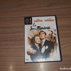 Cine: LA SRA. MINIVER DVD GREER CARSON WALTER PIDGEON WARNER. Lote 141782312