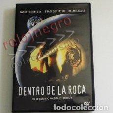 Cine: DENTRO DE LA ROCA - DVD PELÍCULA SUSPENSE TERROR ESPACIO - ESTILO ALIEN - CRIATURA PREDADOR -GALILEO. Lote 92344560