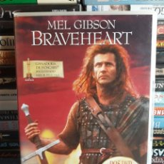 Cine: BRAVEHEART. MEL GIBSON. 2 DISCOS. DVD. Lote 92414244