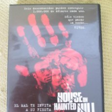 Cine: DVD HOUSE ON HAUNTED HILL - WILLIAM MALONE. Lote 92447600