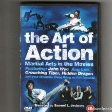 Cine: THE ART OF ACTION MARTIAL ARTS IN THE MOVIES VO SUBTITULOS EN ESPAÑOL - DVD. Lote 92852525