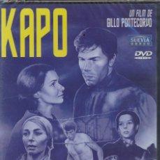 Cine: KAPO DVD (GILLO PONTECORVO) . EN EL CAMPO DE CONCENTRACIÓN SE HACE LO QUE PIDEN...Y SIN CHISTAR. Lote 92999275
