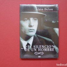 Cine: DVD: EL SILENCIO DE UN HOMBRE (ALAIN DELON) OK RECORDS, 2008. NUEVO ¡ORIGINAL! COLECCIONISTA. Lote 93089035