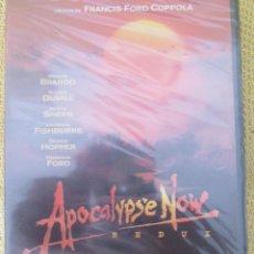 Cine: APOCALYPSE NOW REDUX - DVD - FRANCIS FORD COPPOLA MARLON BRANDO MARTIN SHEEN APOCALIPSIS. Lote 93172715