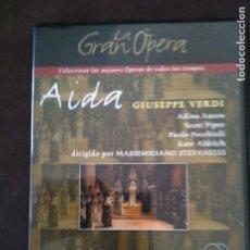 Cine: 2 DVD LA GRAN OPERA,-AIDA GIUSEPPE VERDI. Lote 93774035