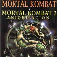 Cine: DVD MORTAL KOMBAT & MORTAL KOMBAT 2 ANIQUILACIÓN . Lote 94022360