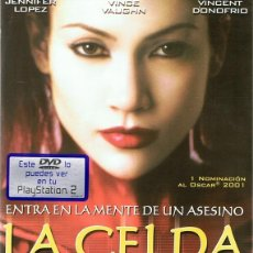 Cine: DVD LA CELDA JENNIFER LOPEZ & VINCE VAUGHN . Lote 94022780