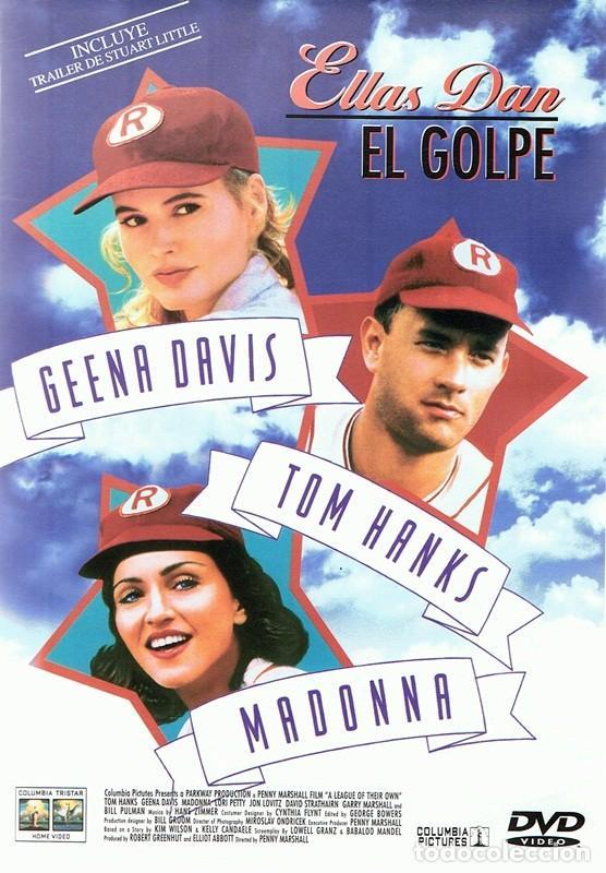 DVD ELLAS DAN EL GOLPE GEENA DAVIS ,TOM HANKS, MADONNA (Cine - Películas - DVD)