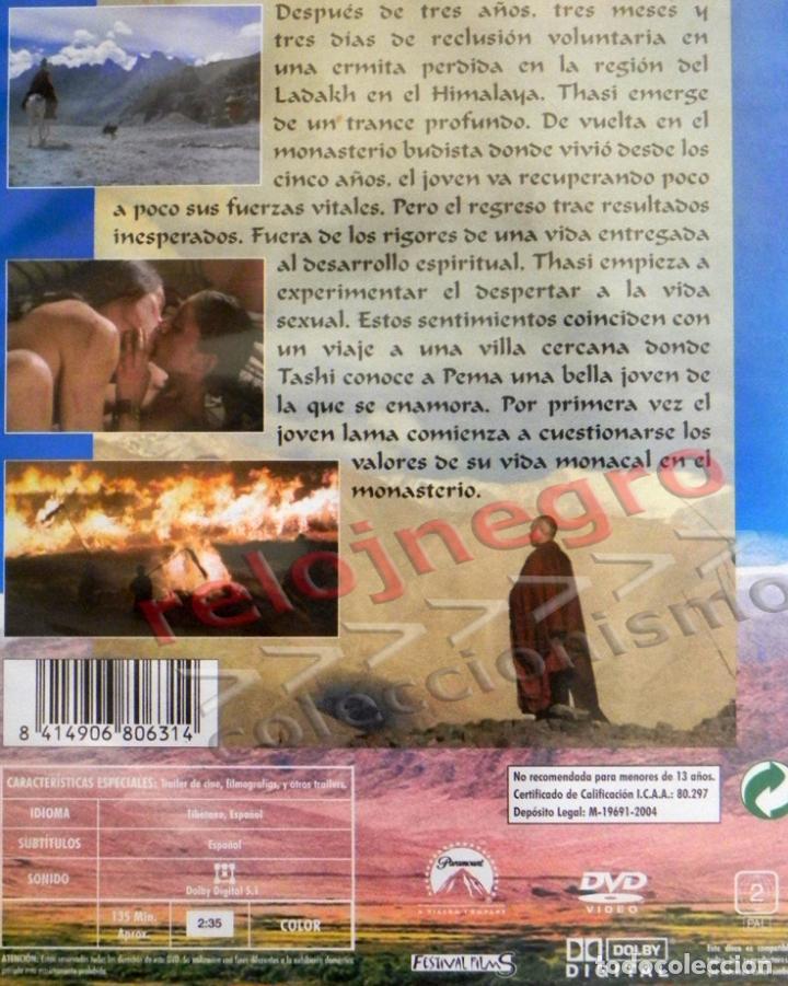 Cine: SAMSARA - DVD PELÍCULA - MONJE BUDISTA - SU DESPERTAR SEXUAL - ¿ SEXO Y RELIGIÓN ?- BUDISMO HIMALAYA - Foto 2 - 94079115