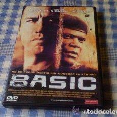 Cine: BASIC - PELÍCULA EN DVD - CINE DE THRILLER SUSPENSE INTRIGA. Lote 94267575