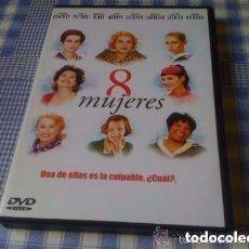 Cine: 8 MUJERES - PELÍCULA EN DVD - CINE DE THRILLER INTRIGA SUSPENSE. Lote 94343050