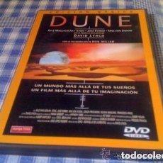 Cine: DUNE DAVID LYNCH PELÍCULA EN DVD EDICIÓN BÁSICA MANGA FILMS NUEVA Y PRECINTADA. Lote 94351602