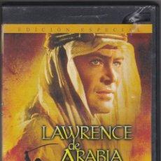 Cine: DVD LAWRENCE DE ARABIA 2 DISCOS (EN BUEN ESTADO). Lote 94465534