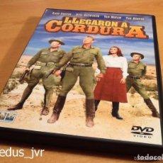 Cine: LLEGARON A CORDURA GARY COOPER RITA HAYWORTH PELÍCULA EN DVD EN BUEN ESTADO. Lote 94477618