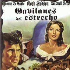 Cinema: DVD GAVILANES DEL ESTRECHO IVONNE DE CARLO . Lote 94586347