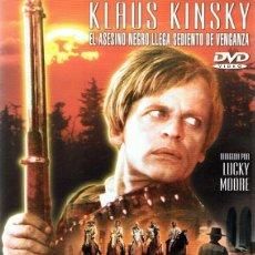 Cine: DVD BLACK KILLER KLAUS KINSKY . Lote 94588691