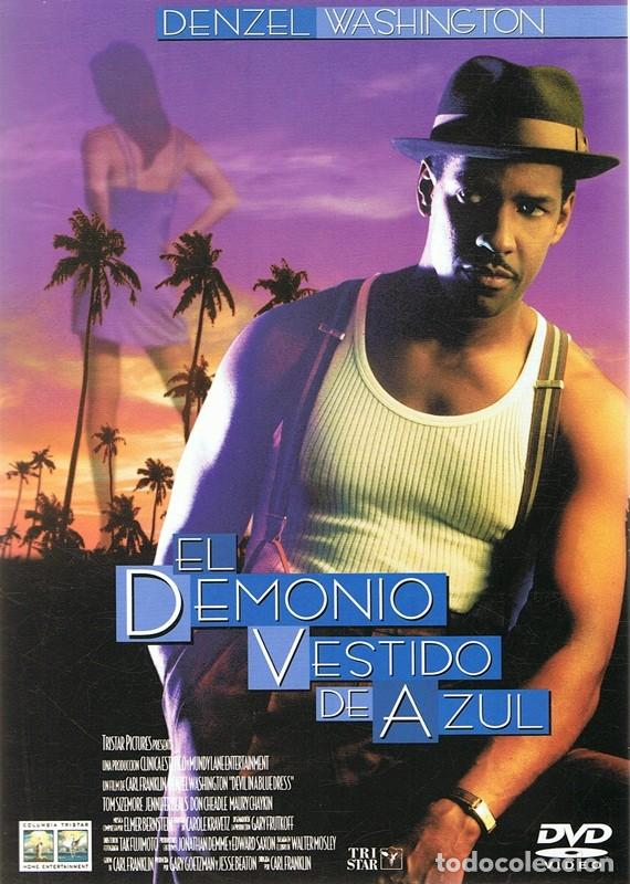 Demonio vestido de azul denzel washington