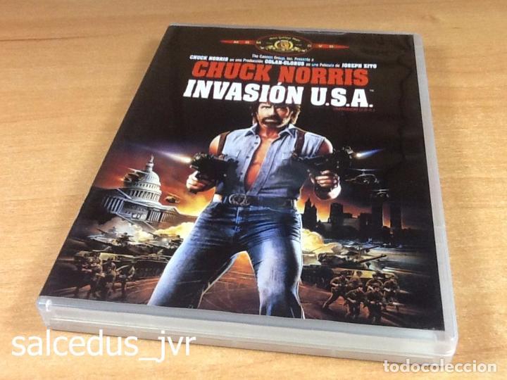 INVASIÓN USA 1985 CINE DE ACCIÓN THRILLER EN DVD COMO NUEVO (Cine - Películas - DVD)