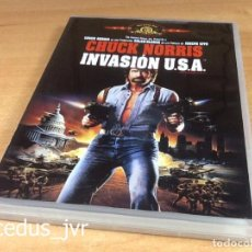 Cine: INVASIÓN USA 1985 CINE DE ACCIÓN THRILLER EN DVD COMO NUEVO. Lote 94612551