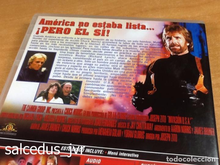 Cine: Invasión USA 1985 Cine de Acción Thriller en DVD como Nuevo - Foto 3 - 94612551
