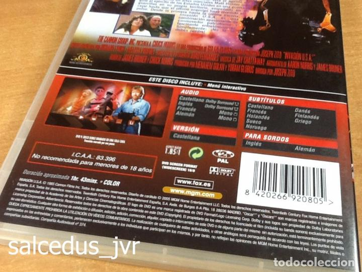 Cine: Invasión USA 1985 Cine de Acción Thriller en DVD como Nuevo - Foto 4 - 94612551