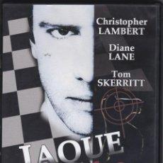 Cine: DVD JAQUE AL ASESINO. (EN ESTADO NORMAL). Lote 94685275