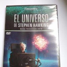 Cine: EL UNIVERSO - STEPHEN HAWKING - TODA LA HISTORIA - DVD - NUEVO Y PRECINTADO. Lote 94736247