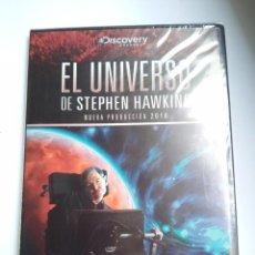 Cine: EL UNIVERSO - STEPHEN HAWKING - VIAJAR EN EL TIEMPO - DVD - NUEVO Y PRECINTADO. Lote 94736315