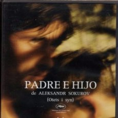 Cine: PADRE E HIJO ( ALEKSANDER SOKUROV) - LA OBRA MAS BUSCADA DEL MAESTRO DEL CINE SOKUROV. Lote 94859187