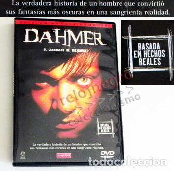 DAHMER EL CARNICERO DE MILWAUKEE DVD PELÍCULA BAS. HECHO REAL - ASESINO EN SERIE EEUU CRIMEN CANÍBAL (Cine - Películas - DVD)