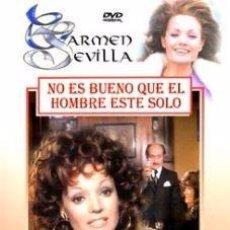 Cine: NO ES BUENO QUE EL HOMBRE ESTE SOLO - CARMEN SEVILLA, JOSE LUIS LOPEZ VAZQUEZ DVD NUEVO. Lote 145344645