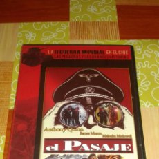 Cine: DVD - LA II GUERRA MUNDIAL EN EL CINE Nº 15 - EL PASAJE ( PRECINTADO ). Lote 95388879