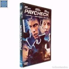 Cine: PAYCHECK / PARAMOUNT / PELÍCULA DVD 2004. Lote 95397651