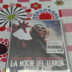 Cine: DVD. LA NOCHE DEL TERROR. MASACRE ZOMBI. PRECINTADA.. Lote 95417280